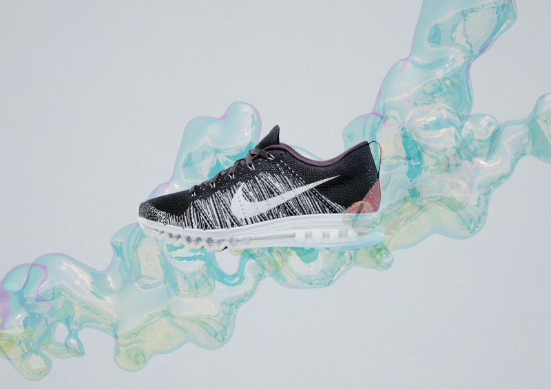 ac1a073fb14b ... store we were commissioned by nike to explore various ways to  illustrate the lightness and advanced